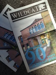 University High's The Wildcat's first issue of the new school year.