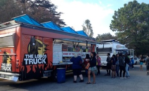 We usually book two or three gourmet food trucks for Back to School or Open House nights.